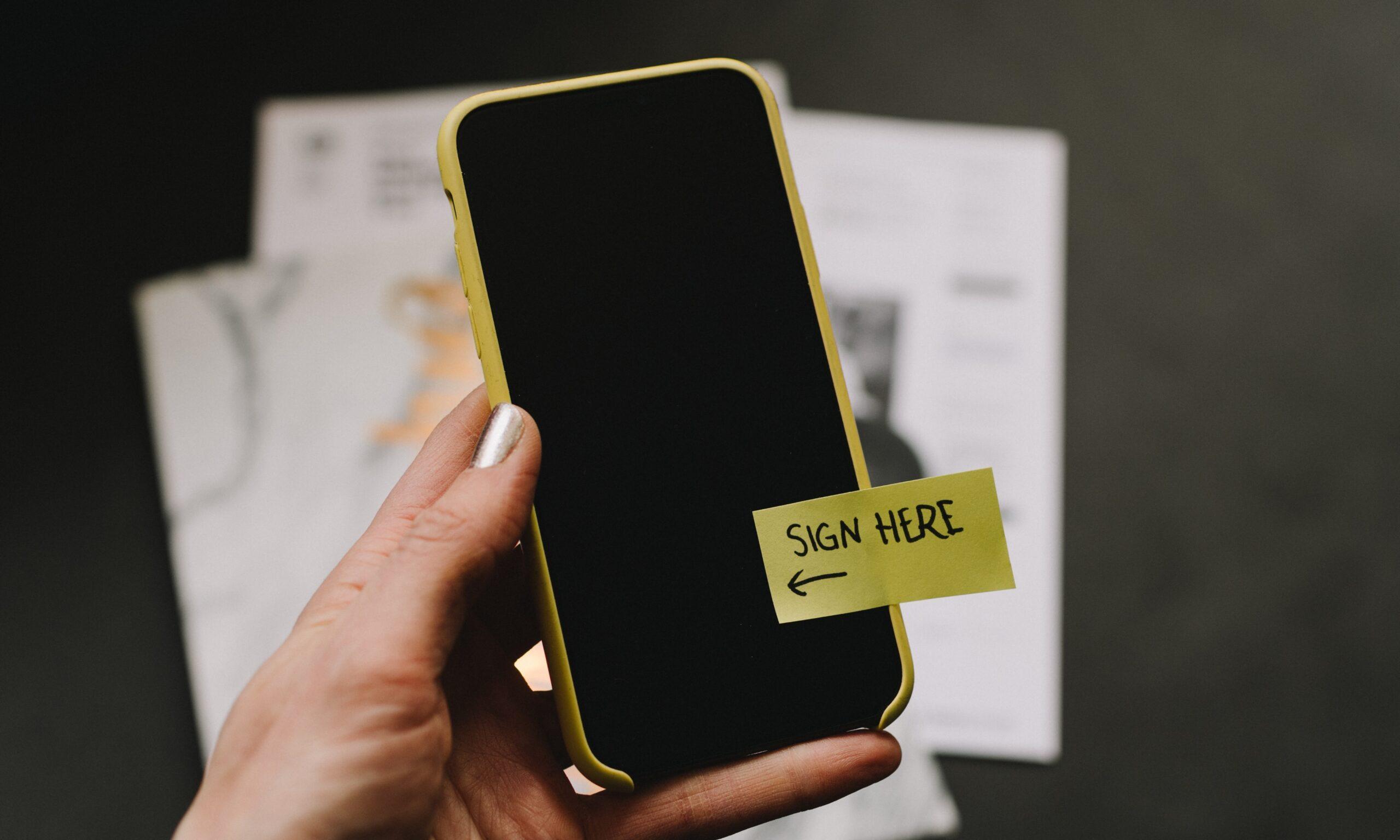 Imagem relativa ao post: Assinatura Eletrônica: Mais uma vitória jurídica da Inovação